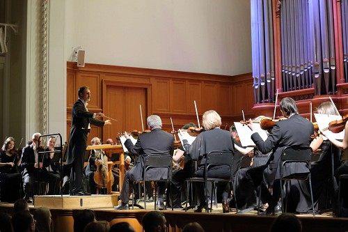 Vladimir Gorbik conducts the Russian National Orchestra
